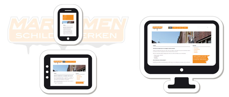 Responsive website - one size fits all