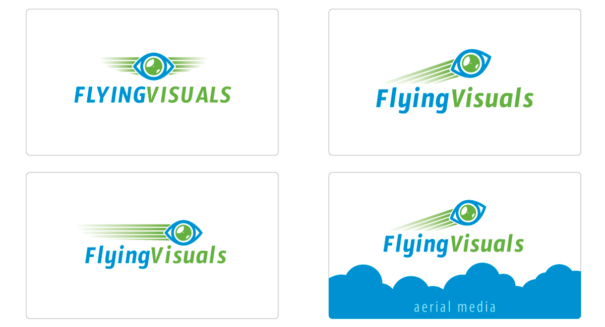 Logo ontwerp Flying Visuals